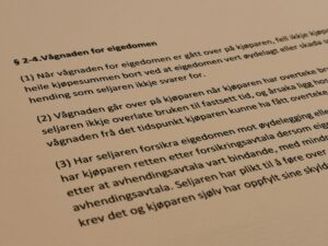 Avhendingsloven paragraf 2-4 med lovkommentar