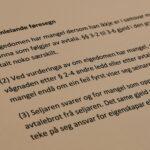 Avhendingsloven § 3-1 med lovkommentar