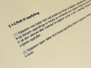 Avhendingsloven paragraf 4-2 med lovkommentar
