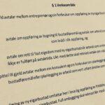 Bustadoppføringslova § 1 med lovkommentar
