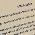 Bustadoppføringslova § 51 med lovkommentar
