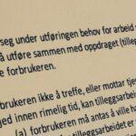 Håndverkertjenesteloven § 9 med lovkommentar