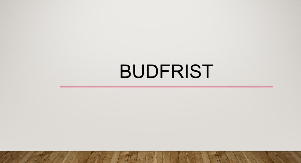 Budfrist