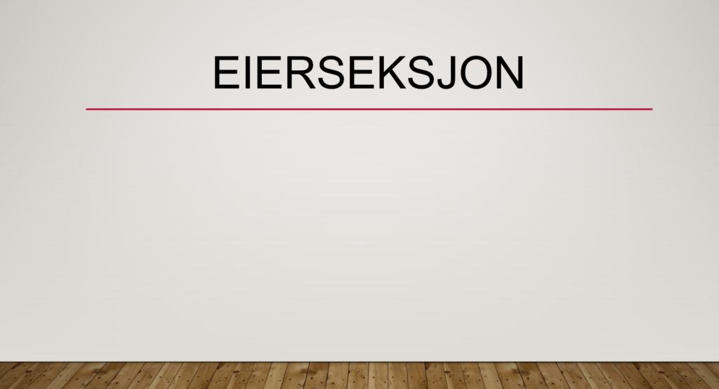 Eierseksjon