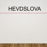 Hevdslova (hevdsloven)