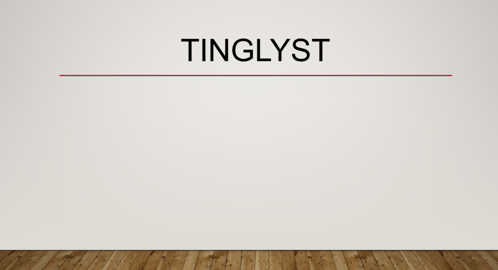 Tinglyst