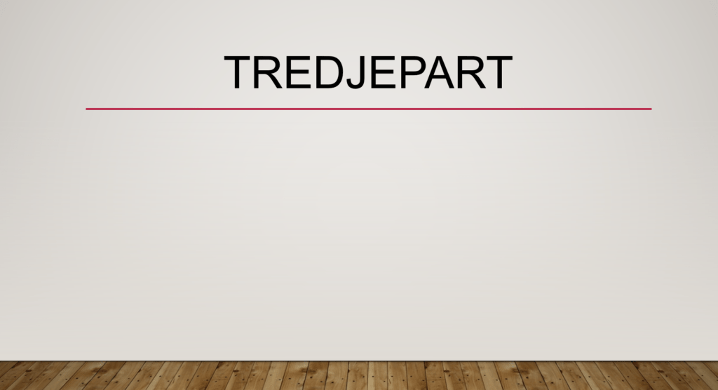 Tredjepart
